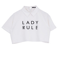 LADY RULE SHORT SHIRT - EMODA Global Online Store