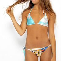 We Are Handsome - The Township String Bikini - Print