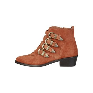 Pierre Cardin Brown Ankle Boots