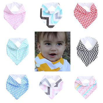 New 8 Colors Infant Kids Baby Saliva Towel Triangle Head Scarf Bandana Dribble Feeding Bibs #K4UE# Drop Ship