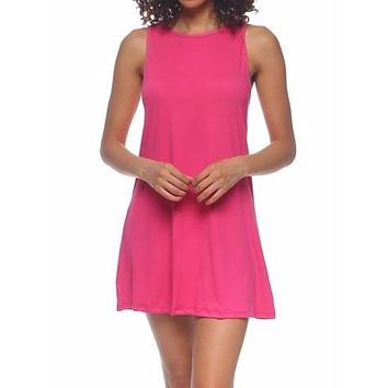 Slept til Noon Dress | Pink