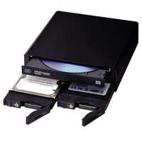 "Century SSD/HDD/Optical 5.25"" Triple Rack 