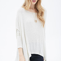 Oversized Marled Top