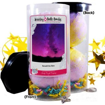 Beneath The Stars Jewelry Bath Bombs