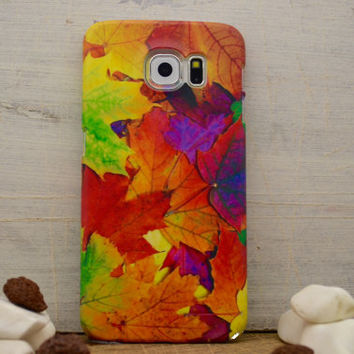 Galaxy S6 case Autumn leaves Floral i6 case iphone 6 plus case fall Samsung galaxy S4 case iphone 4 5 5C, S4 note 3 note 4 LG G3 G4 Xperia
