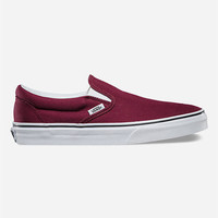 Vans Classic Womens Slip-On Shoes Wine  In Sizes