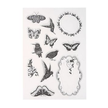 16cm X 11 cm Transparent Clear Stamp for DIY Silicone Scrapbooking/Card Making/ Decoration Supplies