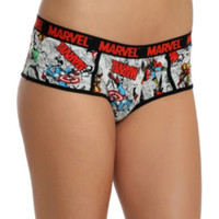 Marvel Avengers Comic Hot Pants