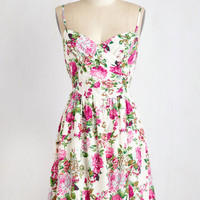 ModCloth Mid-length Sleeveless A-line Garden Grand Tour Dress