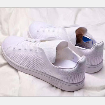 Adidas stan smith sports casual shoes pure white H-PSXY