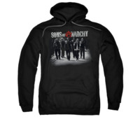 SONS OF ANARCHY ROLLING DEEP Adult Fleece Pull Over Hoodie