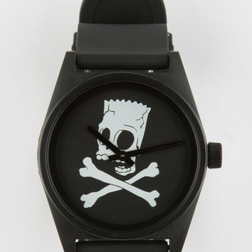 Neff X The Simpsons Bart's World Daily Watch Black One Size For Men 26819410001