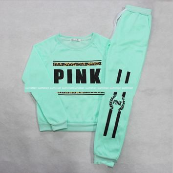 Victoria Hot style PINK collar collar sweater suits Pullovers Green
