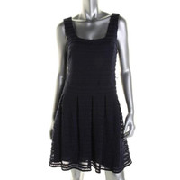 Guess Womens   Knit A-Line Casual Dress