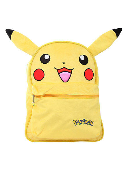 Pokemon Pikachu Furry Backpack From Hot Topic  Things I -3627