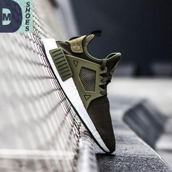 PEAPGE2 Beauty Ticks With Box 2017 High Quality Nmd Xr1 Fall Olive Army Green Sneakers Women Men Youth Gr