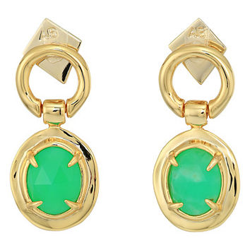 Alexis Bittar Swinging Stone Seatpost Earrings