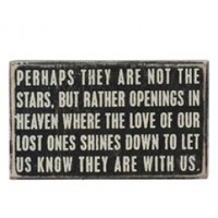 Heavenly Openings Plaque