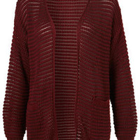 Knitted Grill Stitch Cardi - Pennsylvania  - Collections