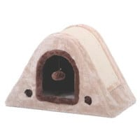 Zest Horseshoe Scratch Box Fleece & Sisal Cat Bed