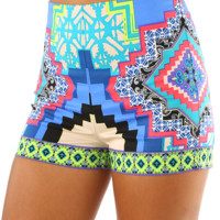 Stop The Rain Shorts: Multi