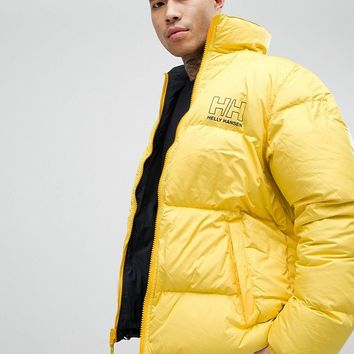 Sweet SKTBS x Helly Hansen Reversible Puffer Jacket With Back Print at asos.com