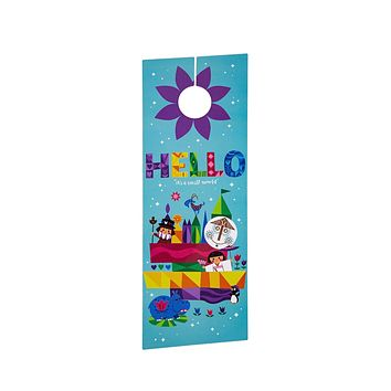 Disney Parks It's a Small World Door Hanger New