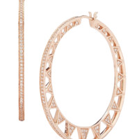 Emily Sarah Hoop Earrings | Marissa Collections