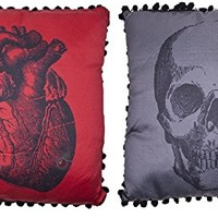 Sourpuss Anatomical Skull and Heart Set
