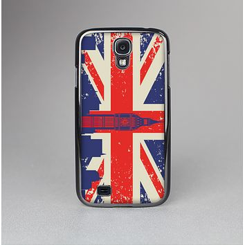 The Vintage London England Flag Skin-Sert Case for the Samsung Galaxy S4