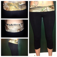 Realtree Camo Leggings color options available
