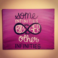 The Fault In Our Stars Quote Canvas Painting