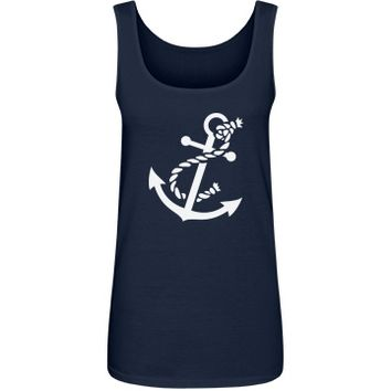 An anchor: Creations Clothing Art