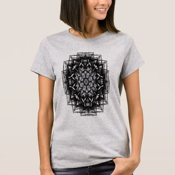 Women's Basic, sacred geometry T-Shirt