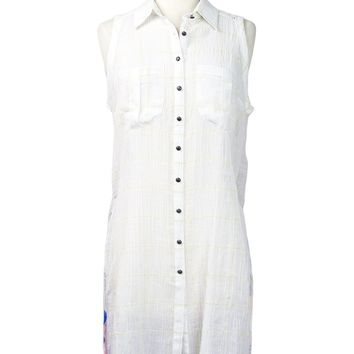 Reese Off-White Tunic