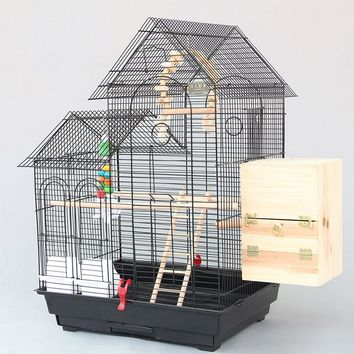 Large Roof Design Bird Cages