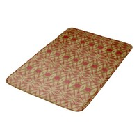Red Gold Digi Art 6-Large Bath Mat Bath Mats