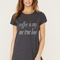 Coffee Graphic Nightdress   Forever 21 - 2000186393