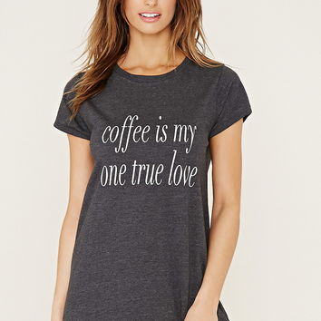Coffee Graphic Nightdress | Forever 21 - 2000186393