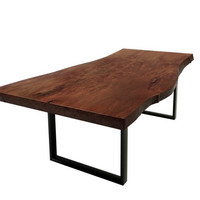 Vanillawood Walnut Slab Table