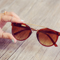 Daydreaming Sunglasses - Brown