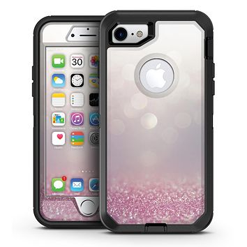 Unfocused Light Pink Glowing Orbs of Light - iPhone 7 or 7 Plus OtterBox Defender Case Skin Decal Kit