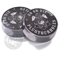 Do or Die Anchor Plugs Black
