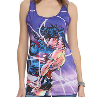 DC Comics Superman Wonder Woman Girls Tank Top