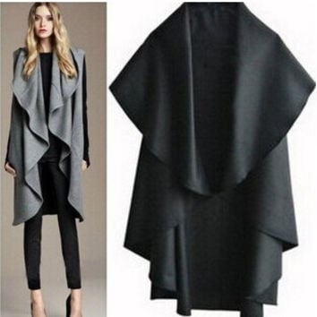 Women's Fashion Stylish Scarf Jacket [9284029060]