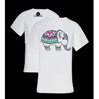 Southern Couture Preppy Gypsy Elephant T-Shirt