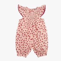 Stella McCartney Kids Sun Baby Girl Apple Print Romper Overalls - 363373