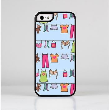 The Neon Clothes Line Pattern Skin-Sert Case for the Apple iPhone 5/5s
