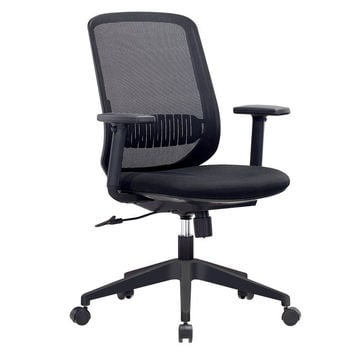 Mesh Office Chair IntimaTe WM Heart Comfortable Ergonomic Midback Home Office Swivel Computer Desk Chair with Lumbar Support and Adjustable Armrest Black mesh chair
