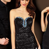 2014 Alyce Cocktail and Homecoming Collection Fitted Dress 4393